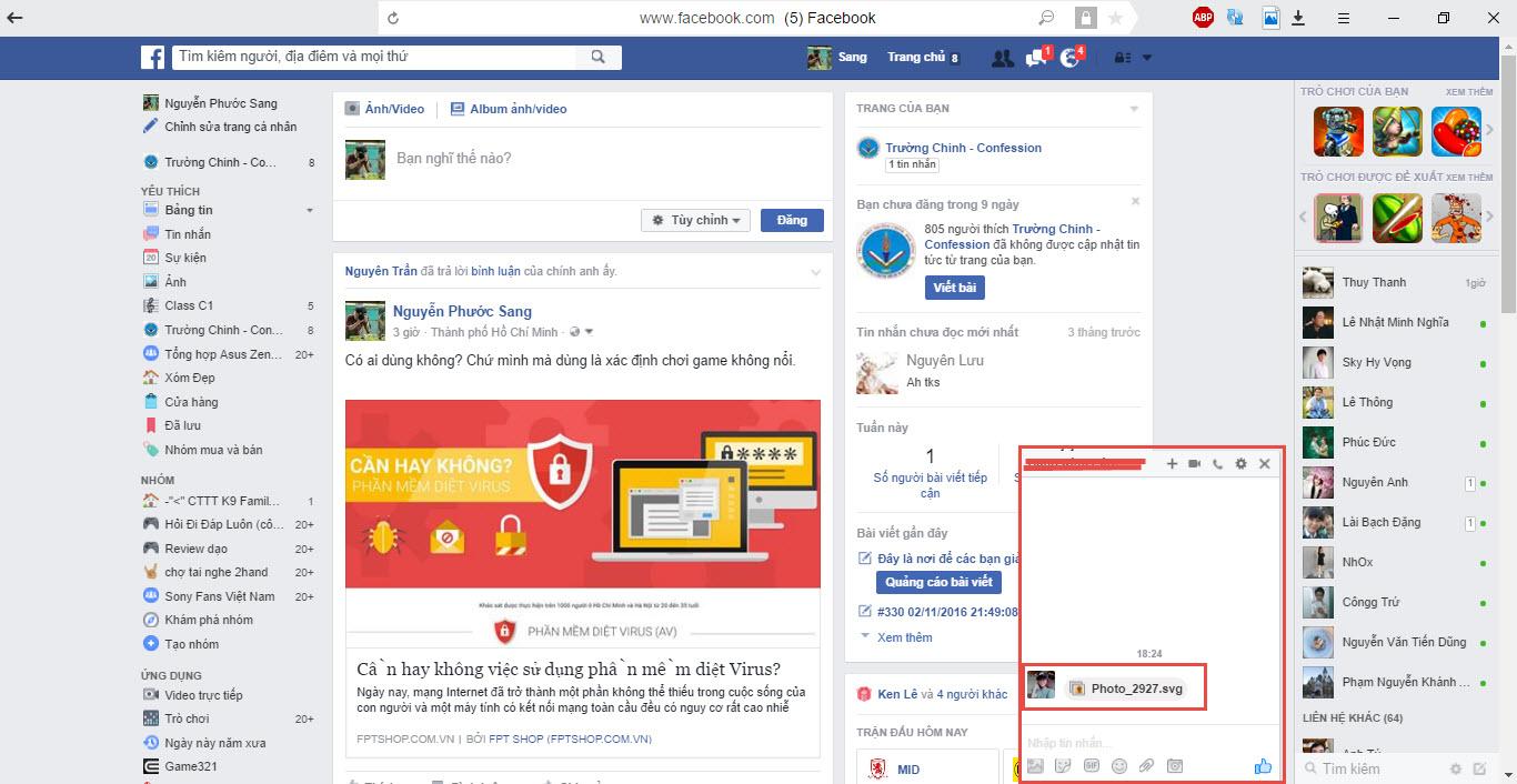 Cảnh giác với dạng virus FaceBook mới, spam hình ảnh có chứa mã độc cho bạn bè - ảnh 2
