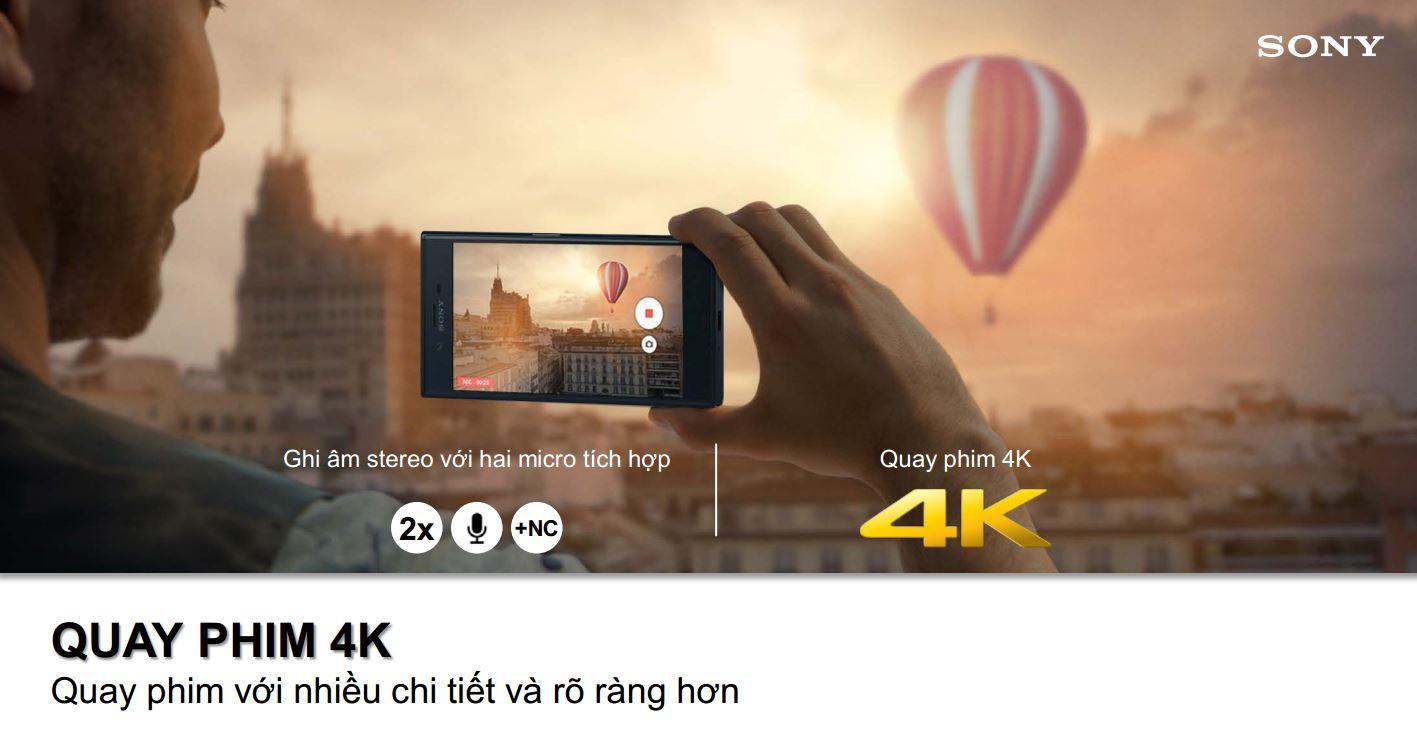 Quay phim 4K trên XZ