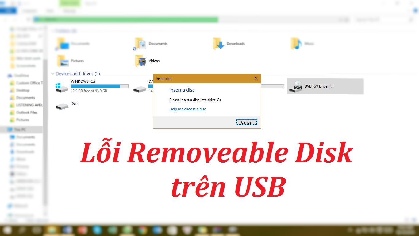 Ảnh nền bài viết lỗi USB