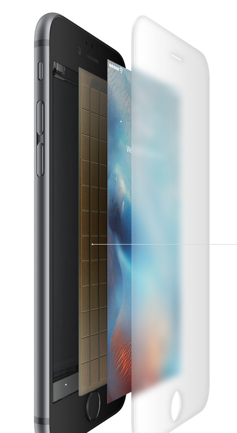iPhone 6s Plus 3D Touch