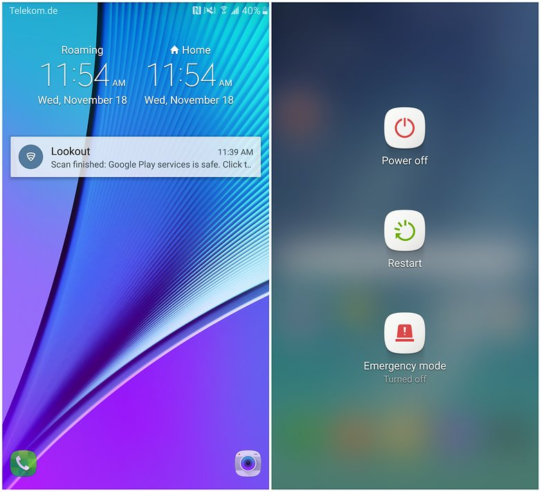 galaxy note 5 android 6.0 marshmallow