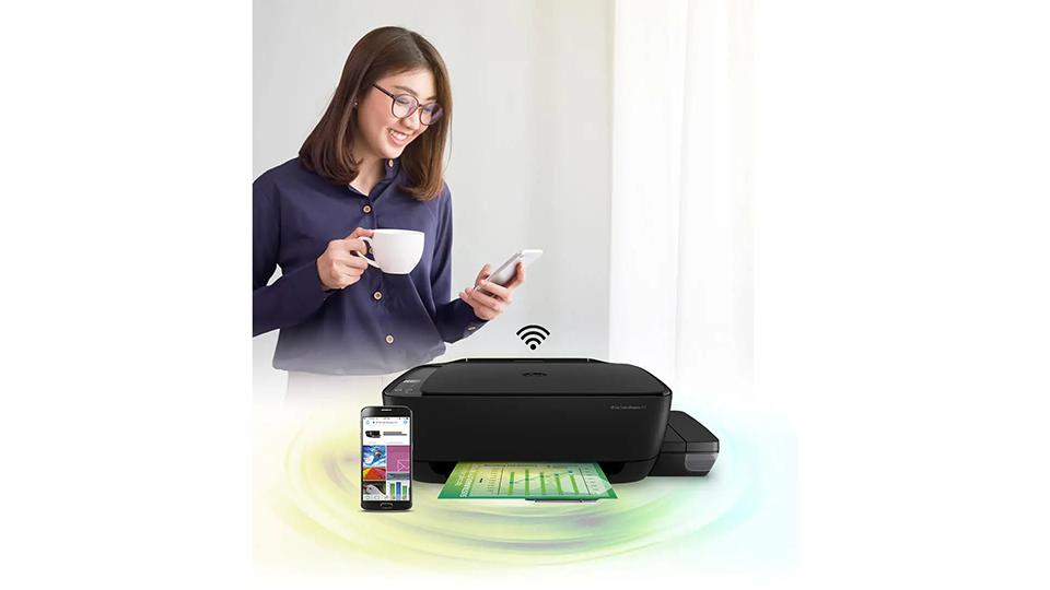 in không dây HP Ink Tank WL 415 AiO Printer