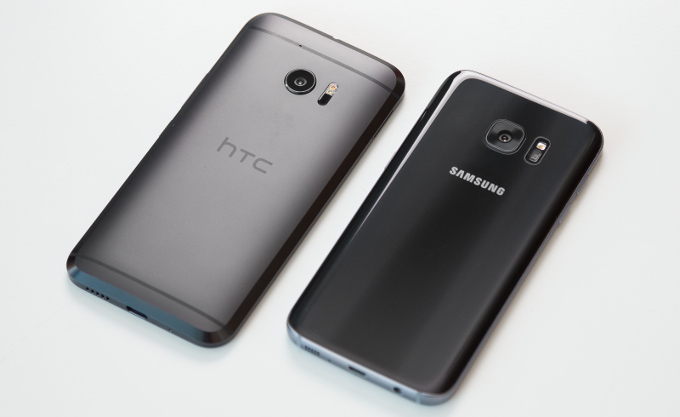 htc 10 vs samsung galaxy s7