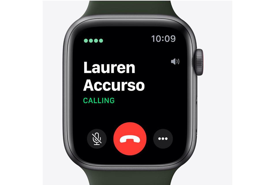 Gọi điện với Apple Watch SE
