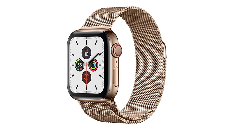 Apple Watch Series 5 Cellular 40mm viền thép dây Milanese