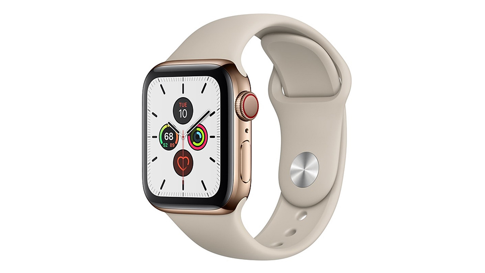 Apple Watch Series 5 Cellular 40mm viền thép dây cao su