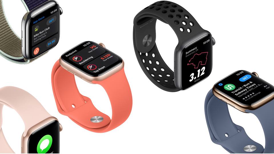 ứng dụng Apple Watch Nike S5 Cellular 40mm
