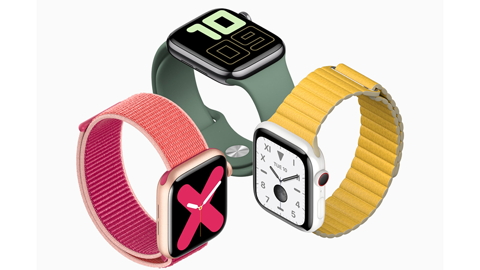 màn hình Apple Watch Series 5