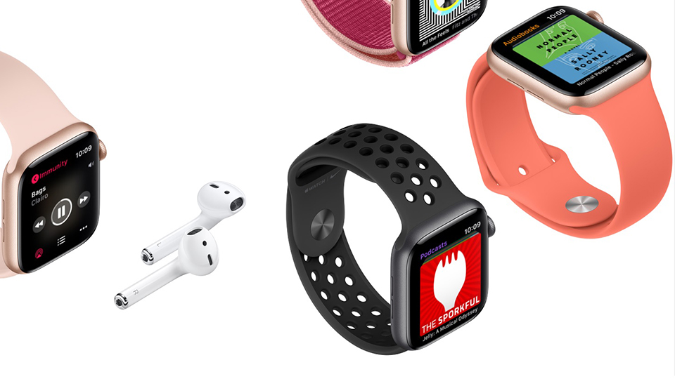 nghe nhạc Apple Watch Series 5