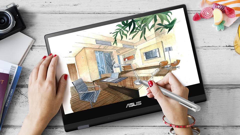 Asus Vivobook Flip TP412FA màn hình