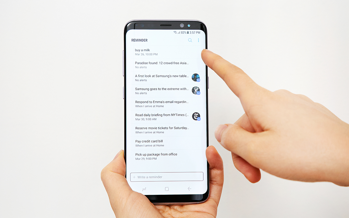 Trợ lý ảo Bixby Samsung Galaxy S8