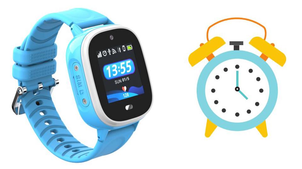 báo thức đồng hồ định vị trẻ em KidPlus