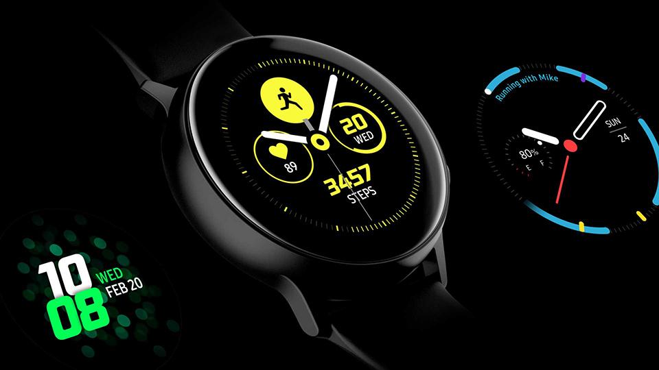 Samsung Galaxy Watch Active sức khỏe