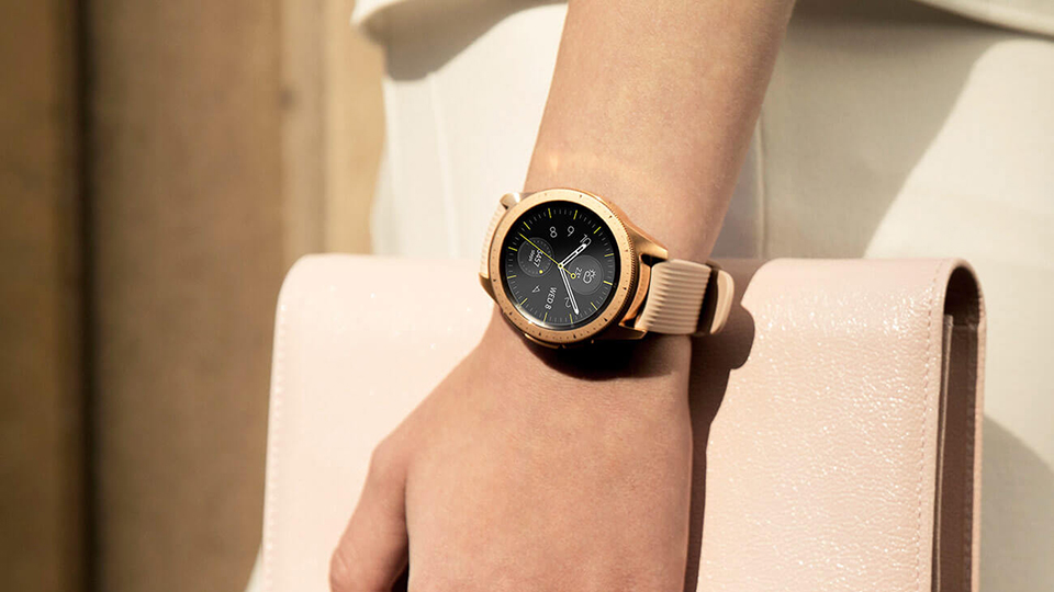 galaxy watch rose 1 Đánh giá chi tiết Đồng hồ Samsung Galaxy Watch 42mm Rose Gold