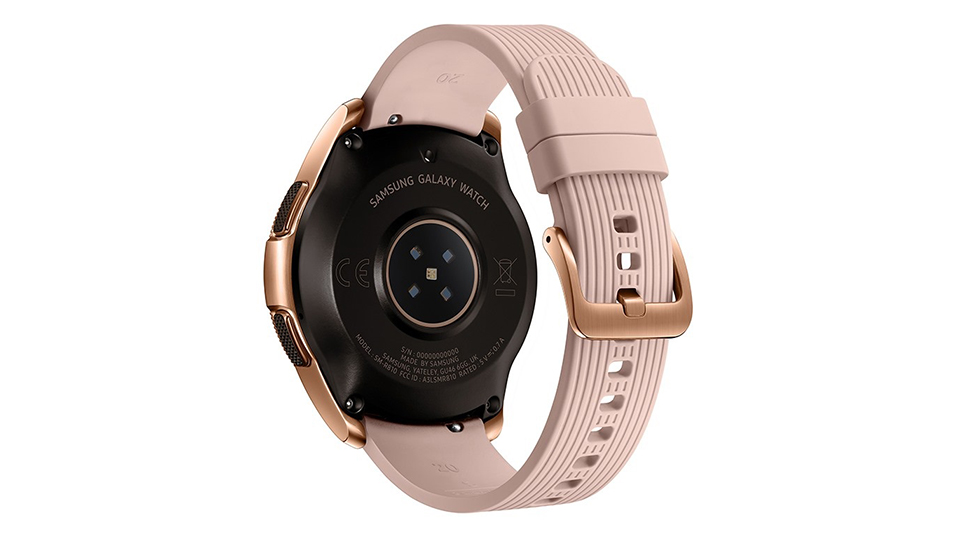 galaxy watch rose 5 Đánh giá chi tiết Đồng hồ Samsung Galaxy Watch 42mm Rose Gold