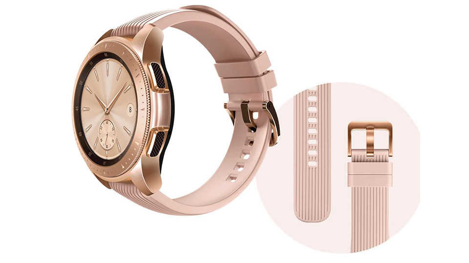 galaxy watch rose 6 Đánh giá chi tiết Đồng hồ Samsung Galaxy Watch 42mm Rose Gold