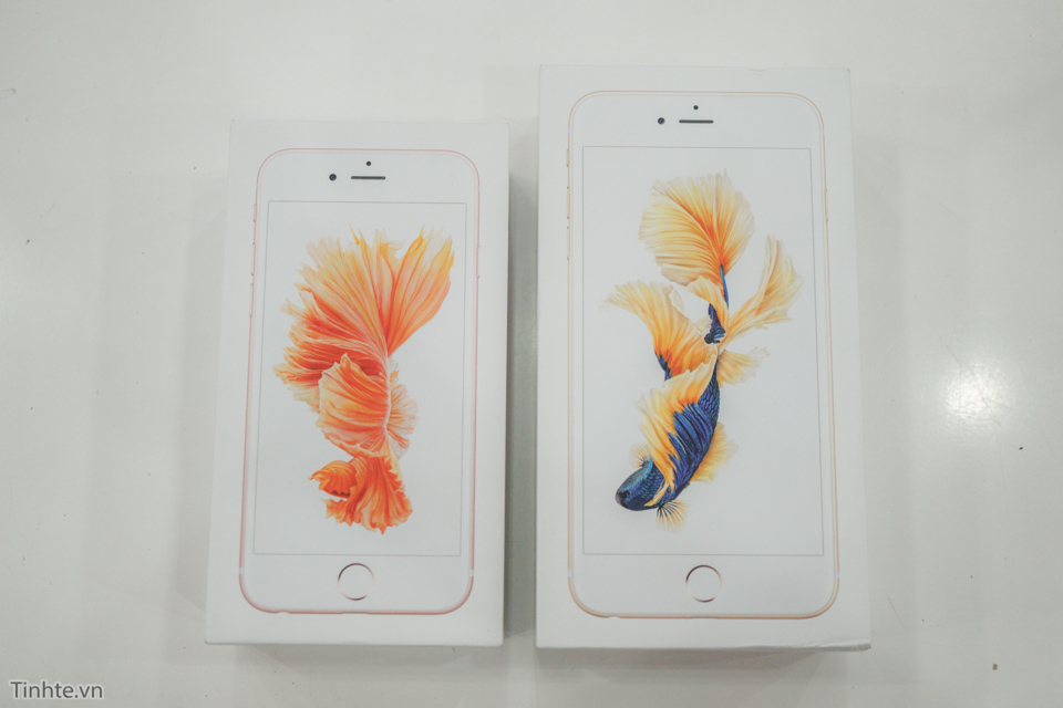 tren tay iPhone 6s và iPhone 6s Plus