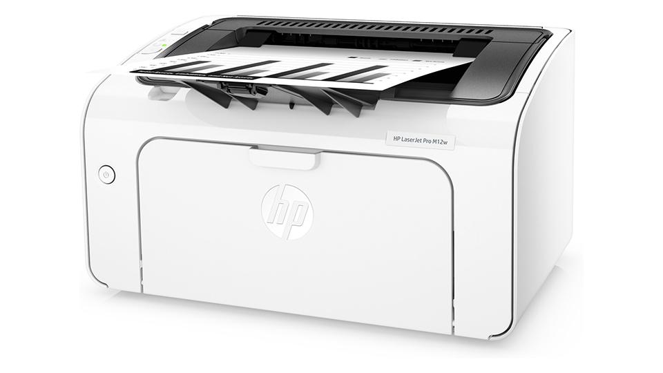 bật tắt Máy in HP LaserJet Pro M12w Printer (T0L46A)