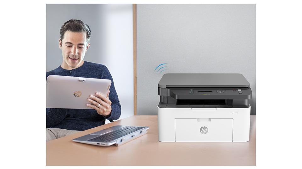 Máy in HP LaserJet Pro MFP M135w (4ZB83A)