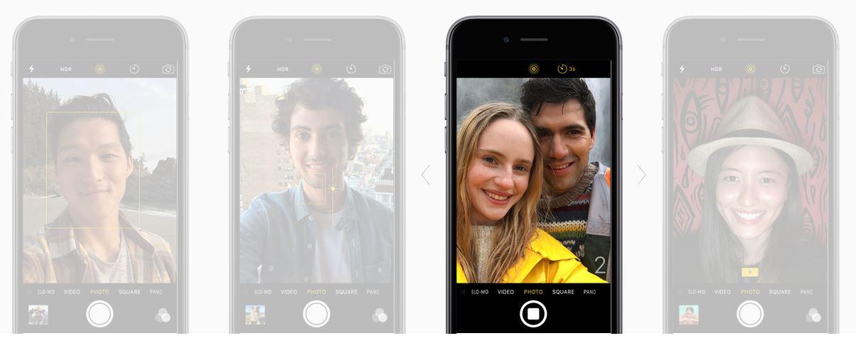iPhone 6s plus camera