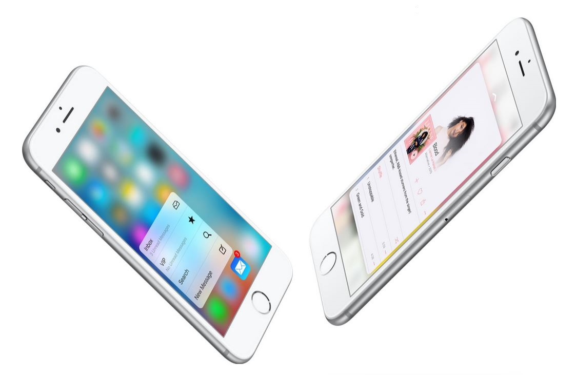 iPhone 6s iOS 9