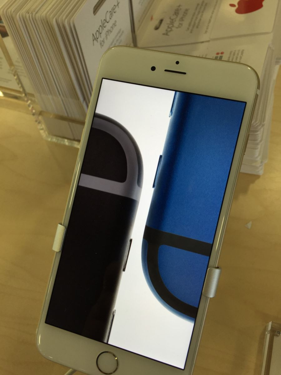 iPhone 6s xanh den