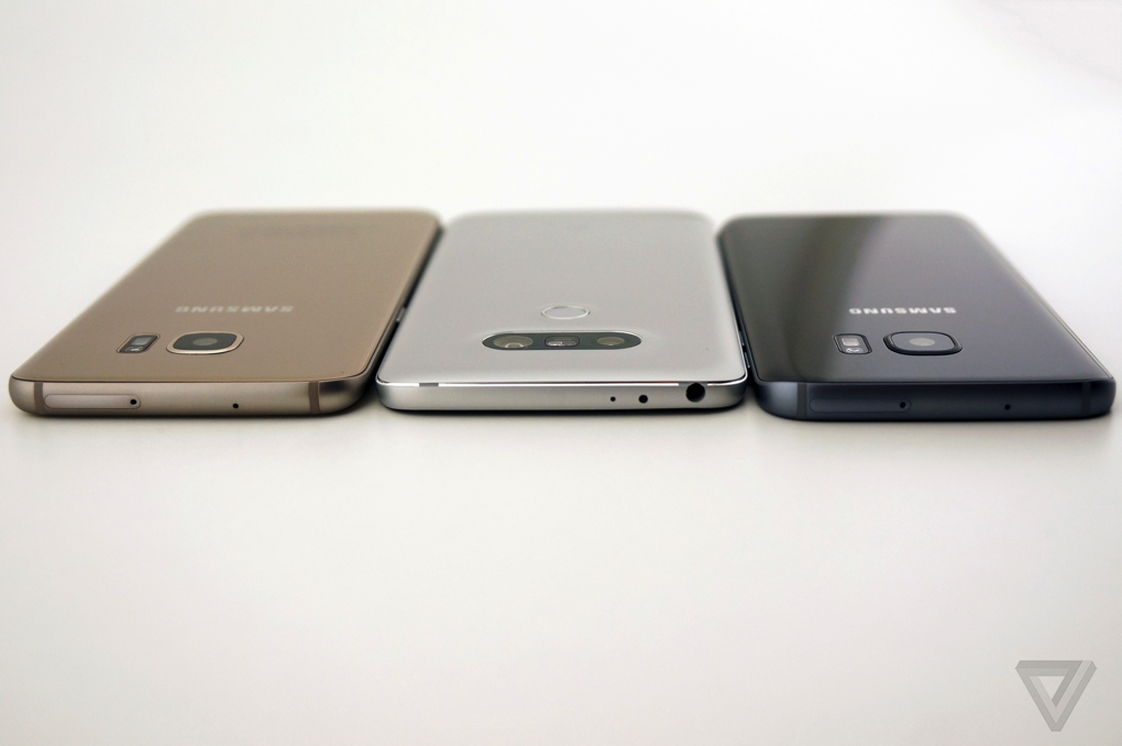 LG G5 vs Samsung Galaxy S7 vs Samsung Galaxy S7 Edge