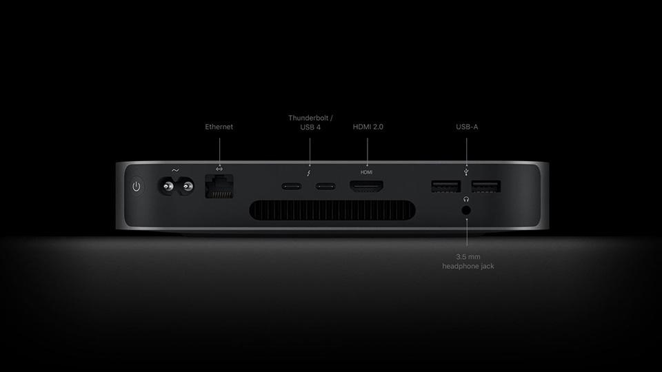 kết nối Mac mini 2020 M1