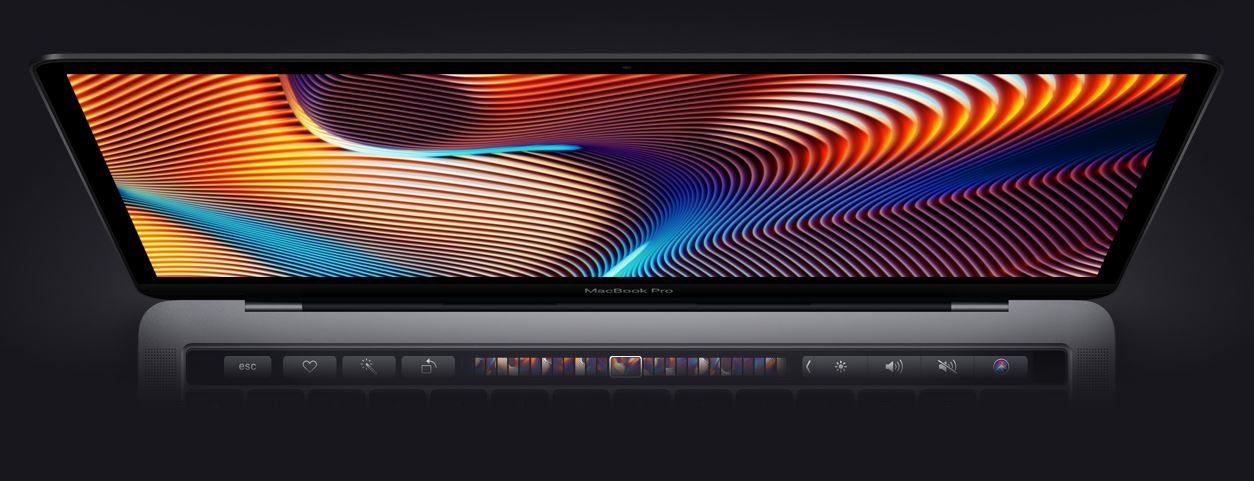 đồ họa MacBook Pro 13 Touch Bar (2019)