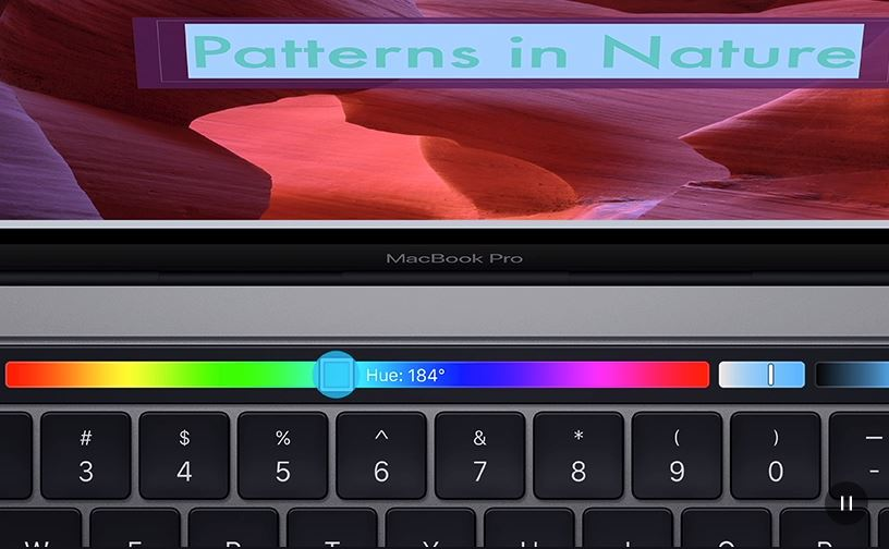 MacBook Pro 13 Touch Bar (2019) Touch Bar