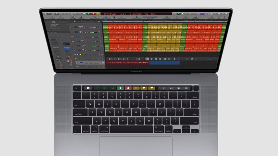 chip MacBook Pro 16 Touch Bar
