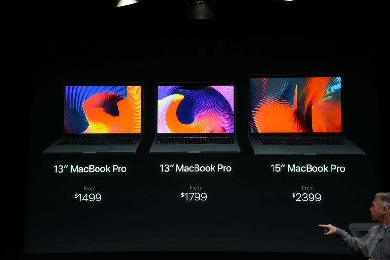 macbook pro 2016 price