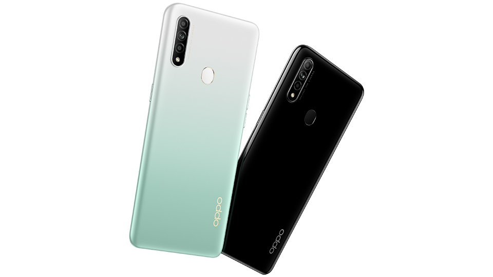thiết kế OPPO A31