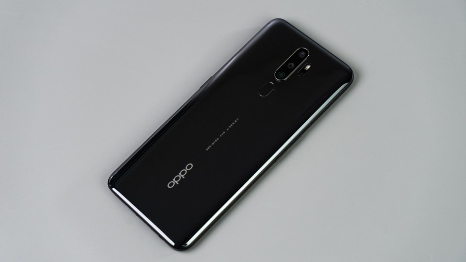 thiết kế OPPO A5 2020