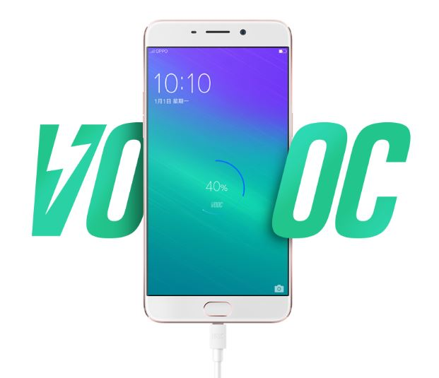 oppo r9 sac nhanh