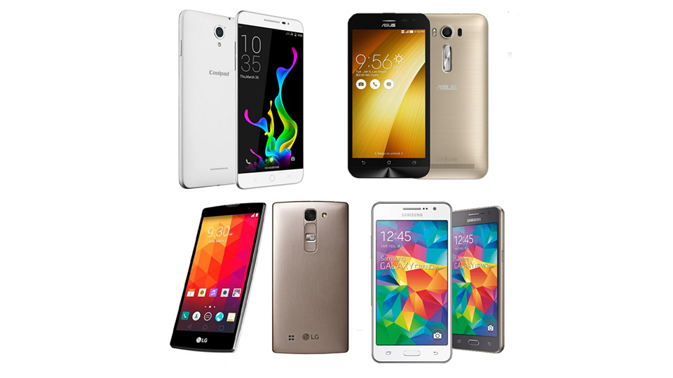 so sanh cau hinh coolpad sky, zenfone 2, lg magna, galaxy grand