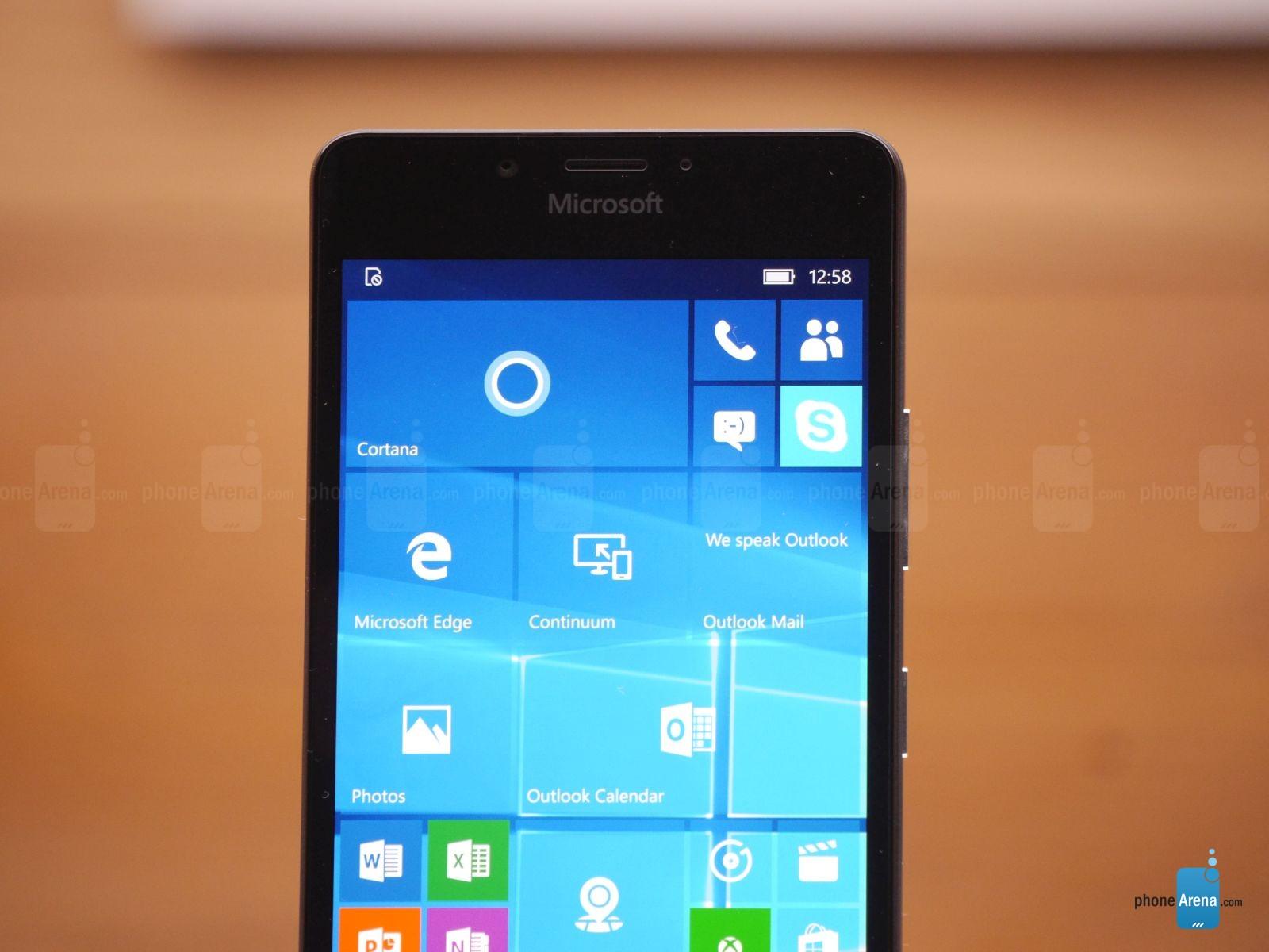Lumia 950 giao dien