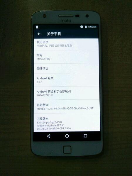 Rò rỉ ngày phát hành của Moto Z Play 2