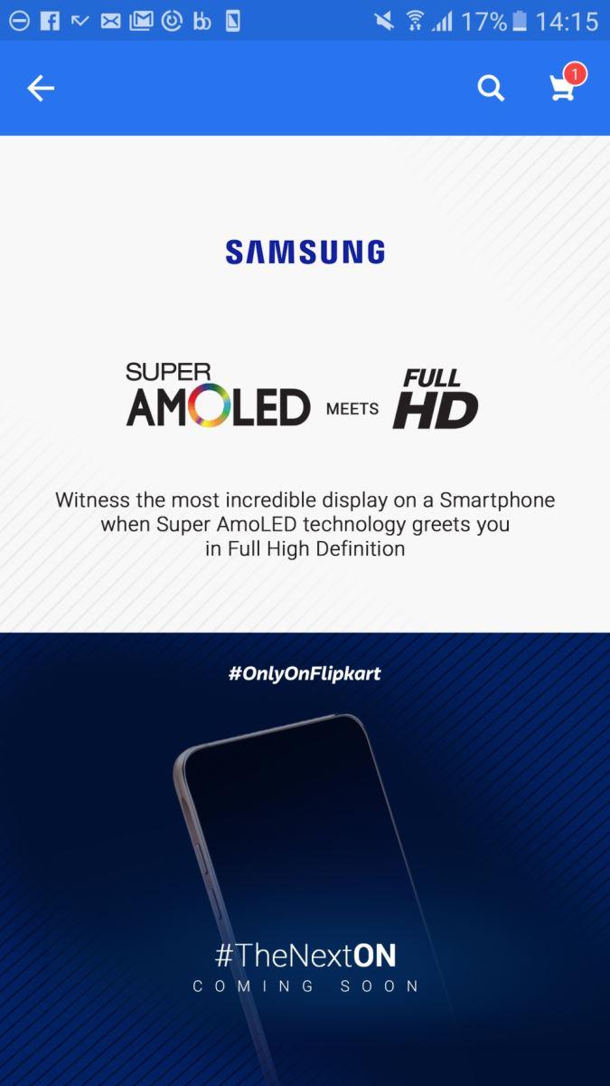 Rò rỉ thông tin về Samsung Galaxy On8 màn hình full HD 2