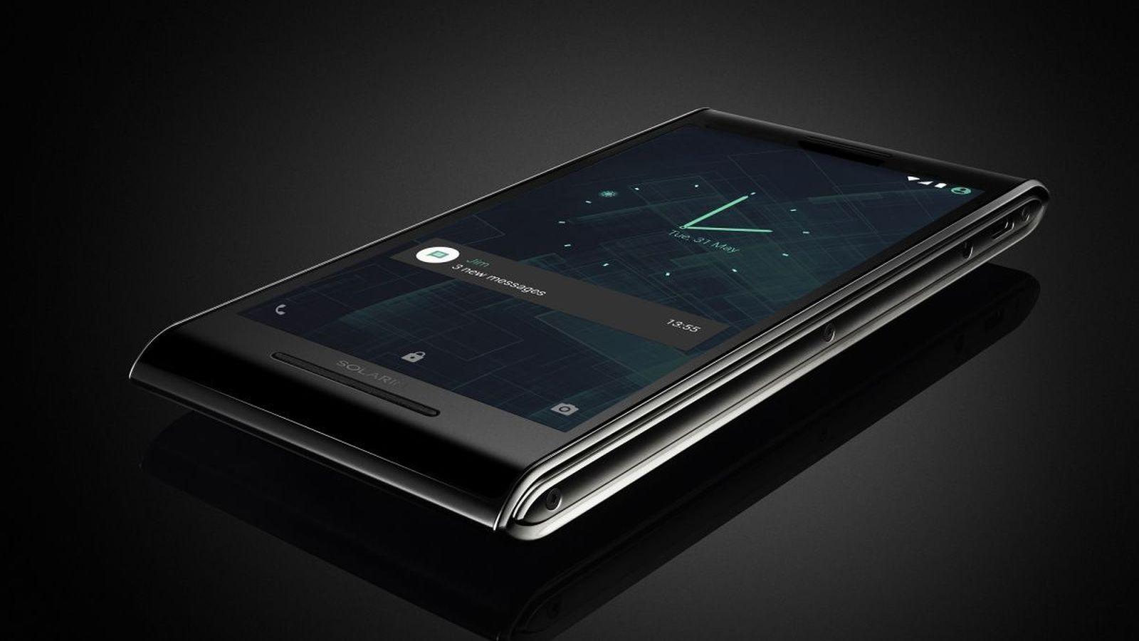Trên tay điện thoại Solarin: Thiết kế độc đáo, bảo mật cấp quân đội