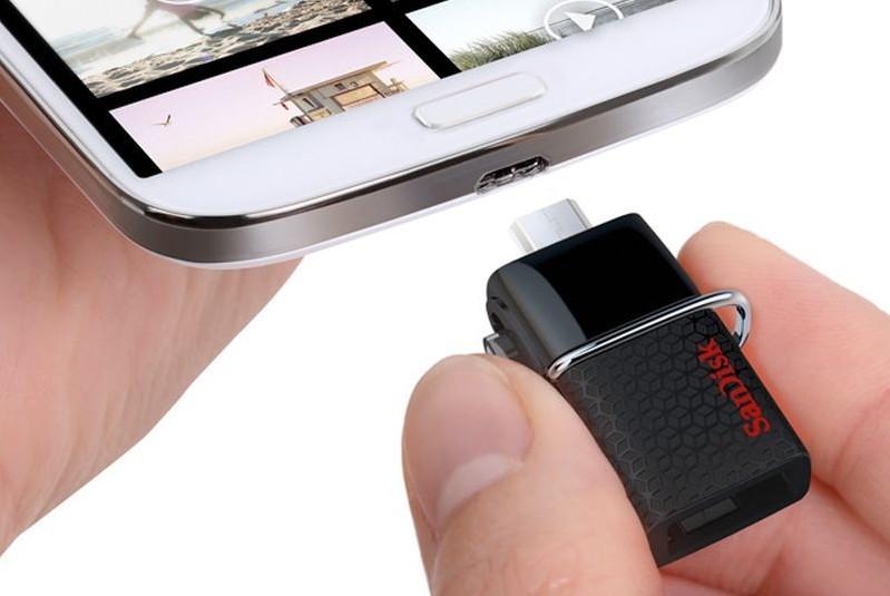 Sandisk ra mắt phụ kiện USB OTG cho thiết bị di động