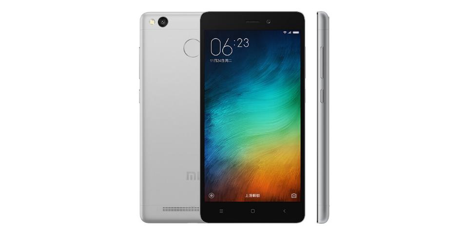 Smartphone Xiaomi Redmi 3S chính thức ra mắt