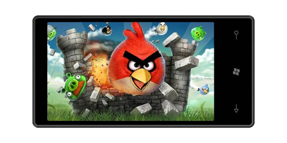Angry Birds ngừng hỗ trợ Windows Phone