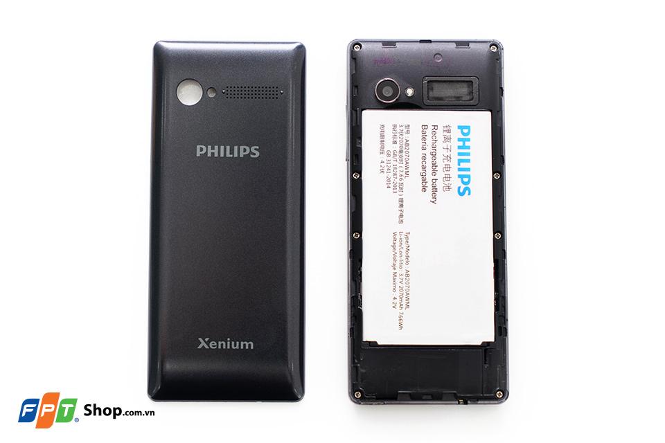 Trên tay Philips E170 tại FPT Shop