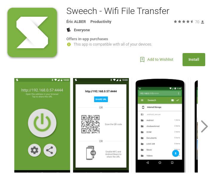 Chuyển dữ liệu dễ dàng qua Wifi với những ứng dụng hữu ích này