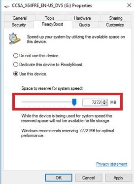 Biến hóa USB thành RAM cho máy tính chạy Windows 10 vô cùng dễ dàng và hiệu quả