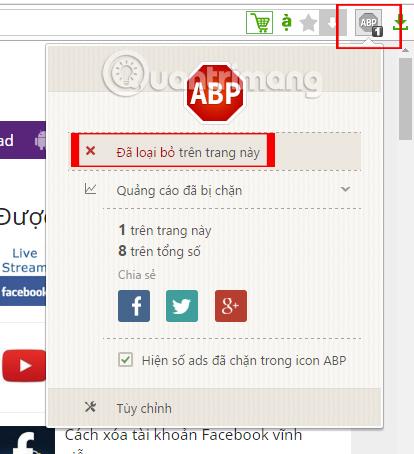 Hướng dẫn chặn quảng cáo triệt để bằng Adblock Plus trên Cốc Cốc