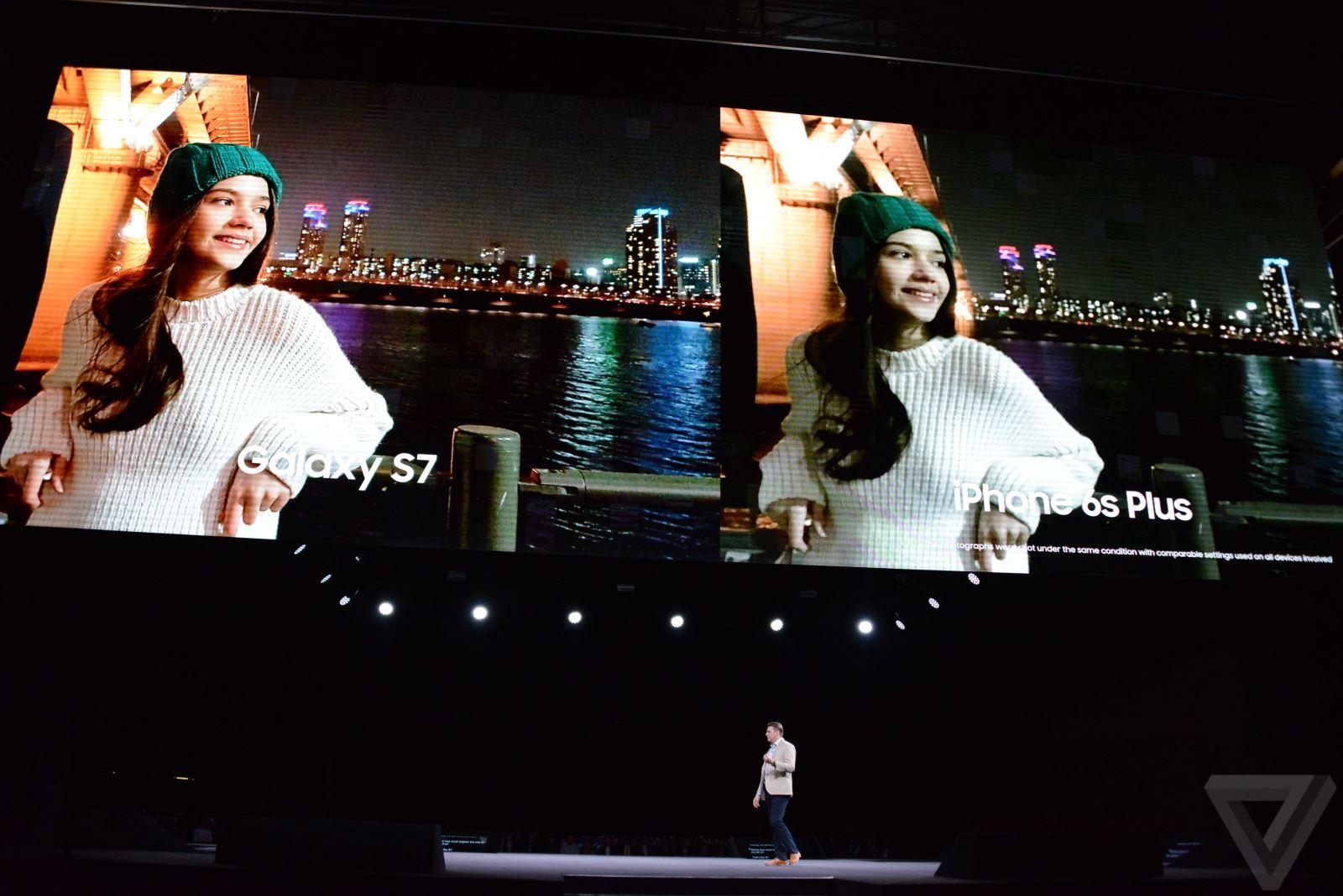 Tổng hợp hình ảnh tại sự kiện ra mắt Galaxy S7