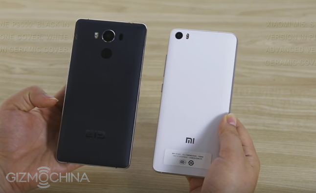 Video so sánh Xiaomi Mi 5 với Elephone P9000