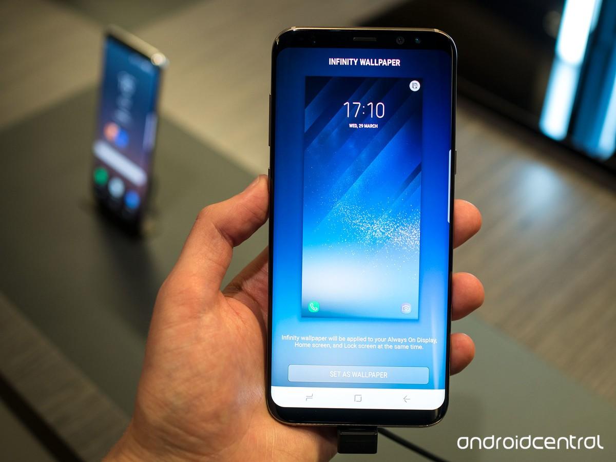 Infinity Wallpapers Tren Galaxy S8 Thật Tuyệt Vời Va đay La Cach